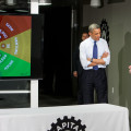 President Obama visits Capital Factory to learn about Austin Innovation.